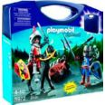 PLAYMOBIL MALETA CABALLEROS KNIGHTS 5972 34PC TRANSPORTABLE