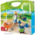 PLAYMOBIL MALETA CLINICA VETERINARIA CITY LIFE 5970
