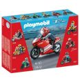 PLAYMOBIL MOTO SUBERBIKE SPORTS AND ACTION 5522