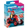 PLAYMOBIL SPECIAL PLUS CHICO CON COCHE CAR CARRERAS 4759