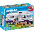 PLAYMOBIL SUMMER FUN CARAVANA FAMILIAR CAMPING 4859