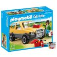 PLAYMOBIL VETERINARIA CON COCHE CITY LIFE 5532