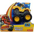 VEHÍCULO SLAM AND GO STRIPES CGK25 JUGUETE BLAZE AND THE MONSTER MACHINES
